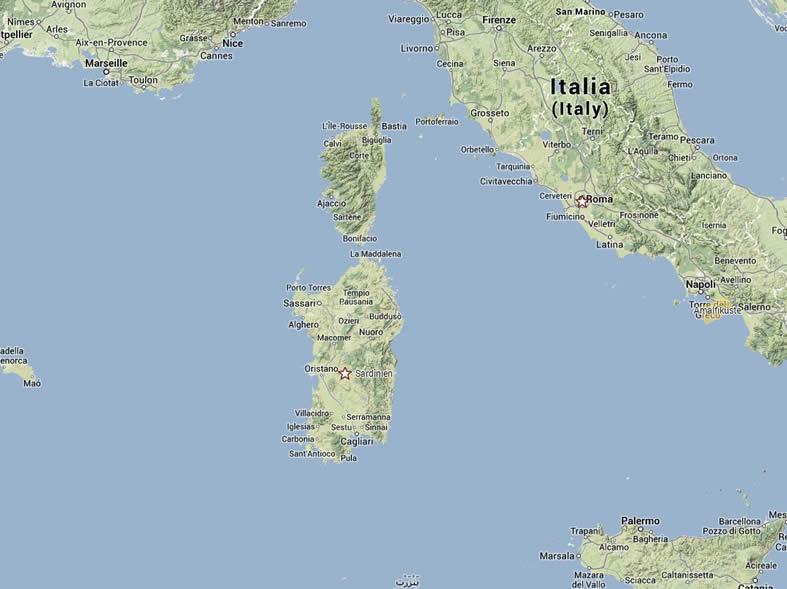 sardinien karte italien Villa auf Sardinien | Italien   firstclass holidays sardinien karte italien