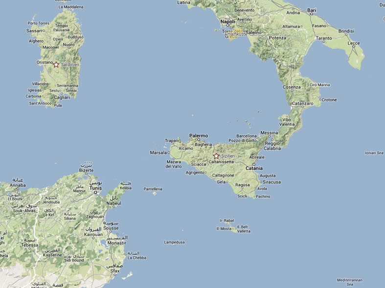 sizilien karte Villa auf Sizilien | Italien   firstclass holidays