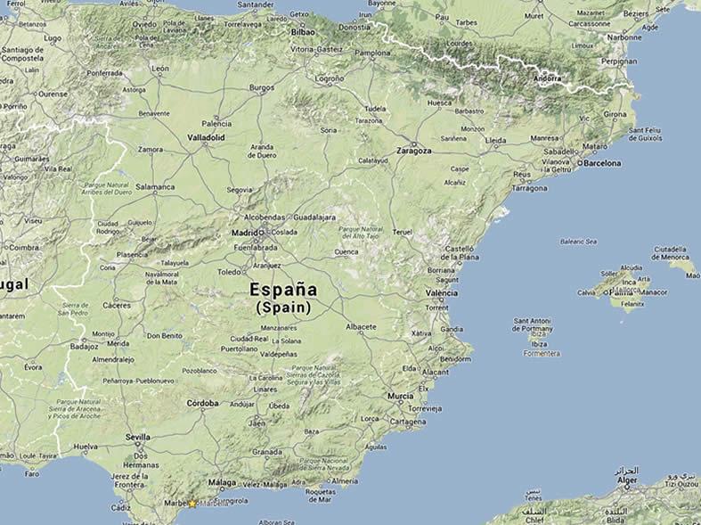 Spanien Karte Küsten.Ferienvilla In Spanien Mieten Firstclass Holidays