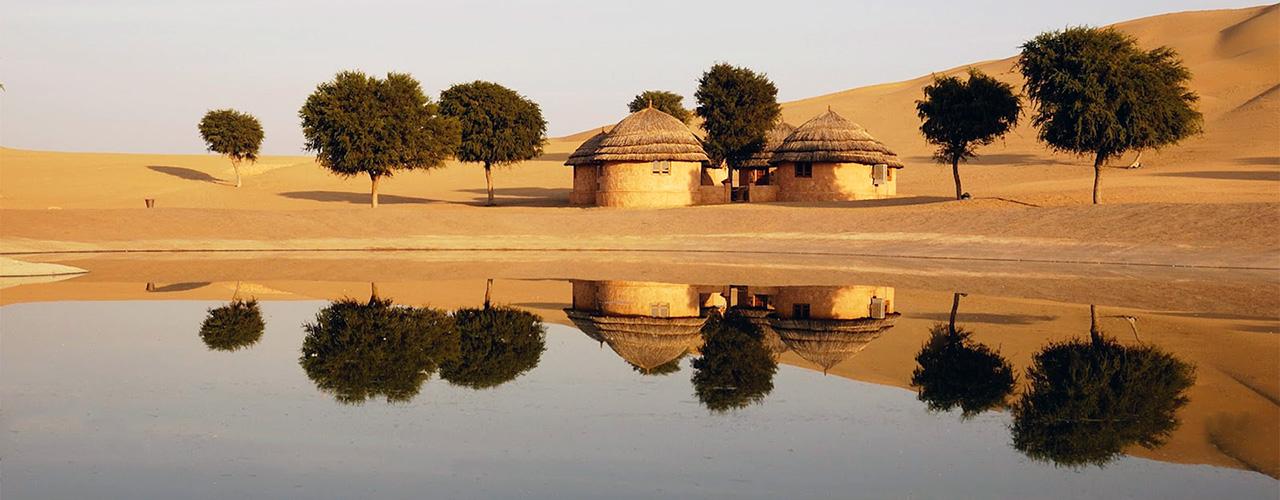 Khimsar Wüste Indien